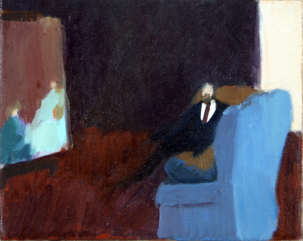 35-talking-to-matisse-oil-on-canvas-25-x-20cm-2008